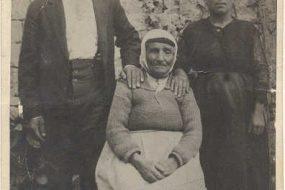 Zeytountsi Vartevar Achikian and wife Archalouyce Qalaydjian – Aleppo 1925