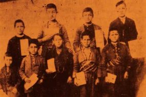 Schoolboys of the Sivrihisar residential school