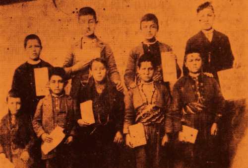 Schoolboys of the Sivrihisar residential school