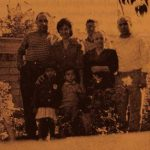 Serpuhi Durghudian with her family, and Mr Varujan Keleshian