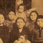 Shahnazar Maklumian with her grand-children - Erevan