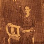 Sofig Engurtsian with her son Mardiros - Sivrihisar