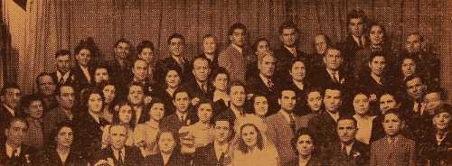 Wedding between two Stanoz-born families
