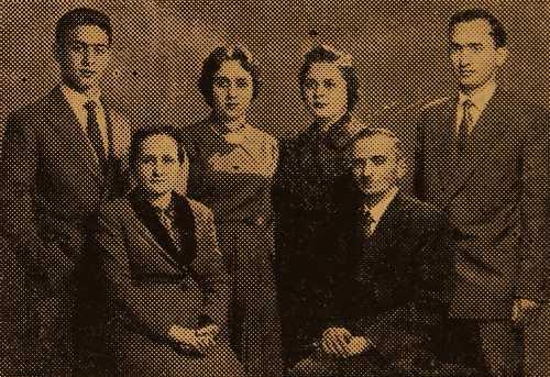 Yervant and Mari Aredjian family