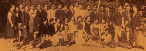 Youth Section of the Armenian Union of Marseille – 1932
