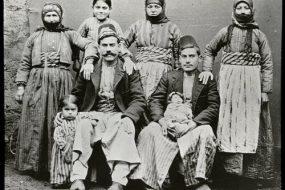 Arapkir 1906 – Unidentified Armenian family