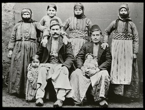 Arapkir 1906 – Unidentified Armenian family
