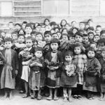 Armenian orphans in Aleppo 1918 - Near East Relief Organisation