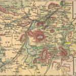 Kesaria district historical Armenian map 1914-1918