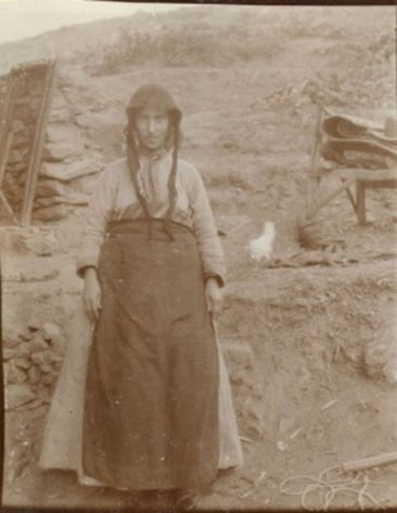 Areguine Aslanian, Sassoun survivor in 1917