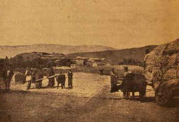 Armenian village of Gundemir, in Daron province