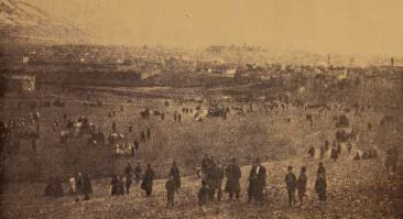 Gariners at Surp Neshan celebrating Dzeradon