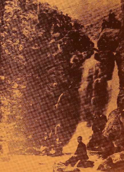 Koch-Kochan Falls in Garin province