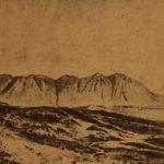 Mount Krkur in Daron province