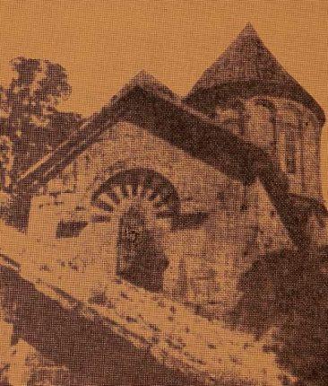 Tash Hane Armenian Church in Garin province