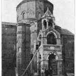 Akhtamar island, Surp Khach Church - Lake Van 1911