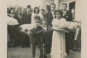 Anahid and Antranik Balian wedding – 1946