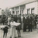 Anahid and Antranik Balian wedding - 1946