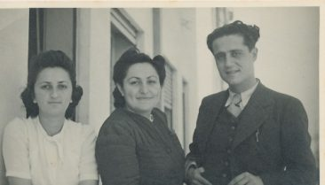 Anahid and Arpi Kaloustian – 1950s