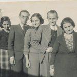 Anahid, Arpi, Dikran, Dikranouhi Kaloustian - 1936