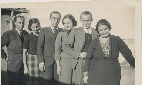 Anahid, Arpi, Dikran, Dikranouhi Kaloustian – 1936