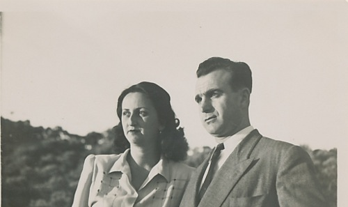 Antranik and Anahid Balian – 28 September 1949