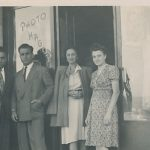 Antranik and Anahid Balian, Veron, Hagop - late 1940s