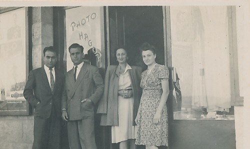 Antranik and Anahid Balian, Veron, Hagop – late 1940s