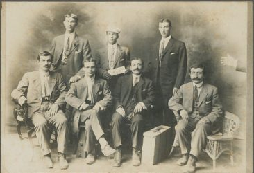 Armenian figures in 1909-1910