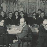 Arpi and Hovhannes Kazanjian, Lousaper Yakhsezian - 1950s