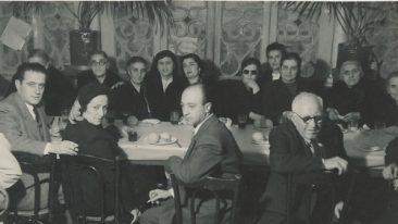 Arpi and Hovhannes Kazanjian, Lousaper Yakhsezian – 1950s