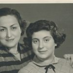 Arpi and Nanig Kazanjian - 5 April 1954