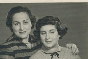 Arpi and Nanig Kazanjian – 5 April 1954