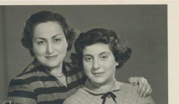 Arpi and Nanig Kazanjian – 5 April 1954