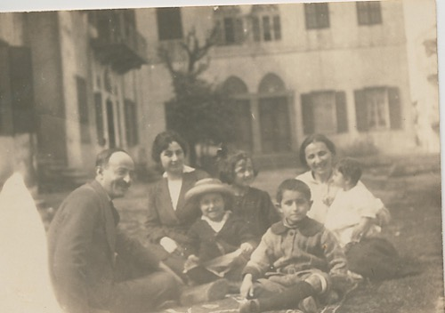 Arshag Kaloustian and family