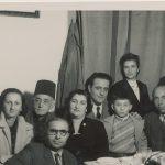 Arshag Kaloustian, Anahid Balian, Kazanjian family - 10 February 1952