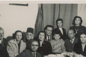 Arshag Kaloustian, Anahid Balian, Kazanjian family – 10 February 1952