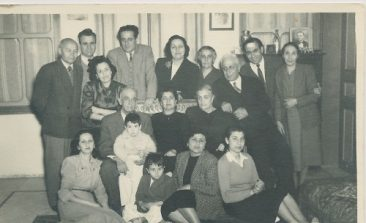 Arshag Kaloustian, Balian, Zarmanian, Kazanjian families – 1952