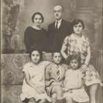 Arshak Kaloustian family - 1930