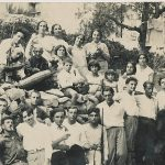Anahid Kaloustian and relatives - August 1929