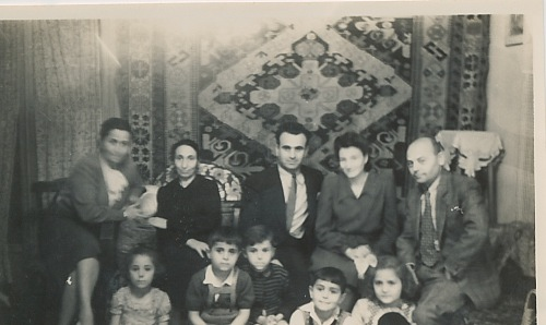 Balian and Zarmanian families – late 1940s
