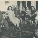 Balian, Zarmanian, Yakhsezian and Tutunjian families - early 1950s