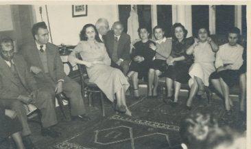 Balian, Zarmanian, Yakhsezian and Tutunjian families – early 1950s