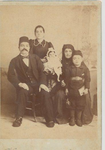 Garabed Agha Kaloustian and family – 1896