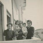 Hovhannes Kazanjian with family - 1940s