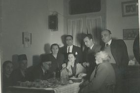 Kaloustian, Balian and Tutunjian families – 1 January 1949
