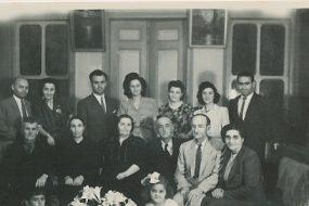 Kaloustian, Balian and Zarmanian families – 25 May 1946
