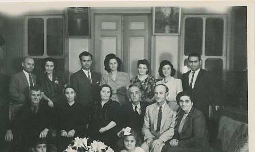 Kaloustian, Balian and Zarmanian families – 25 May 1946