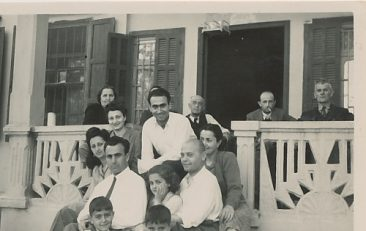 Kaloustian, Balian and Zarmanian families – 19 May 1946