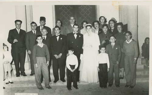 Lousig Zarmanian's wedding party – 1953